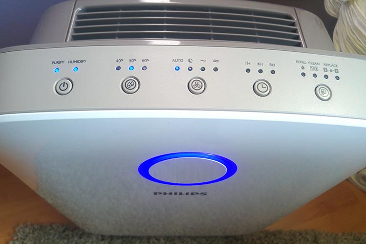Tünde termékteszt  PR levegőtisztító párásító