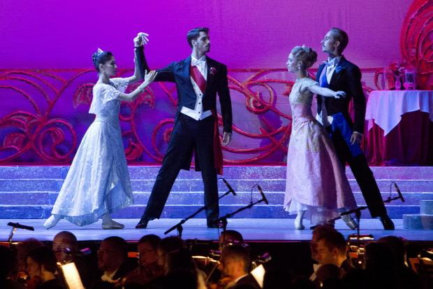 opera Kárpát-Haza Operatúra A víg özvegy balett