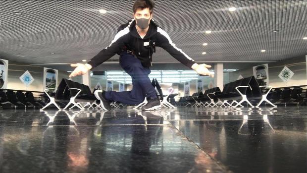 airport ballet karantén