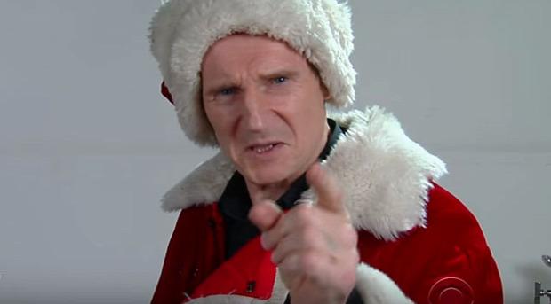 Liam Neeson mikulás álogatás