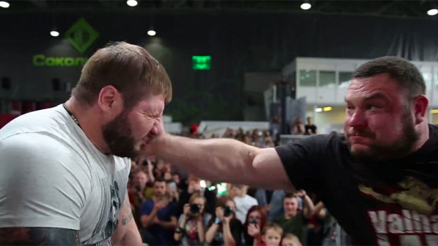 orosz pofon pofozó bajnokság