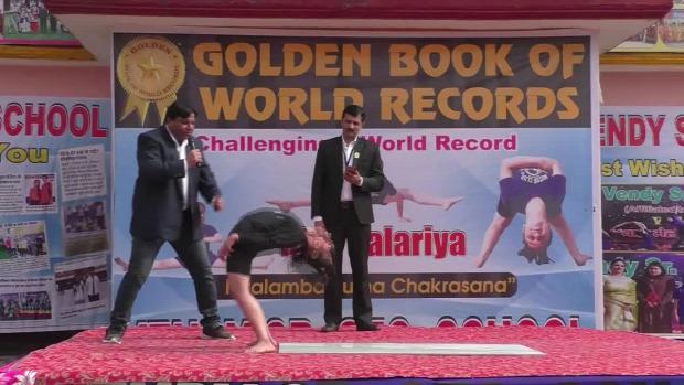 jóga gyakorlat világbajnok