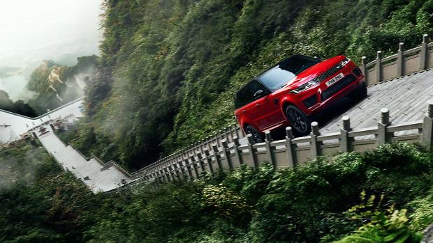 Kína Range Rover Tianmen-hegy Mennyei kapu 999 lépcső
