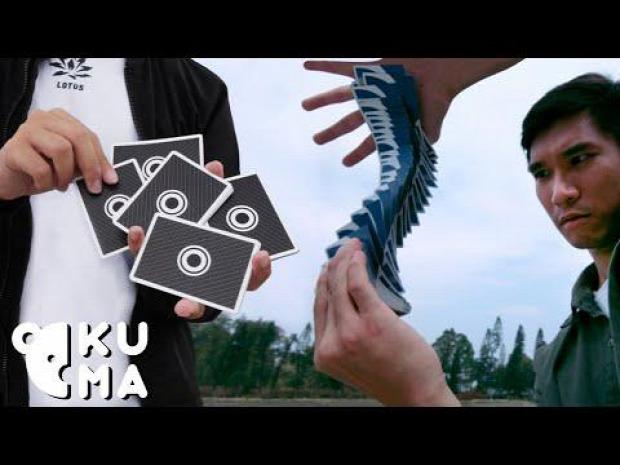 kártya trükk ügyesség