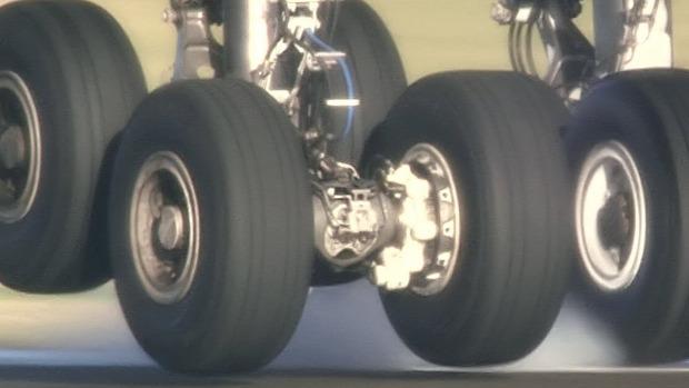 A-380 repülőgép futómű terhelés