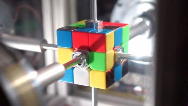 rekord rubik bűvös kocka robot