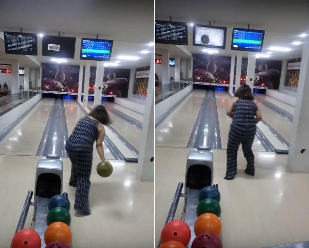 Bowling törés monitor