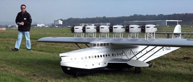 modell repülő rekorder Donier Do-x