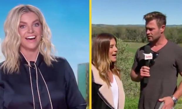 Chris Hemsworth időjárás tévé tv troll