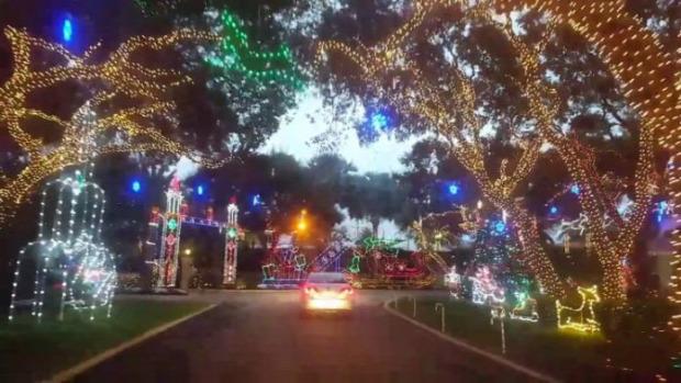 Florida karácsony világítás