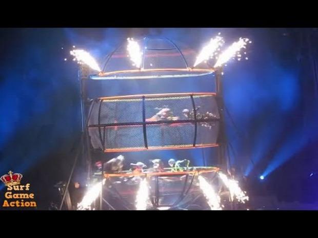 cirkusz baleset zuhanás esés