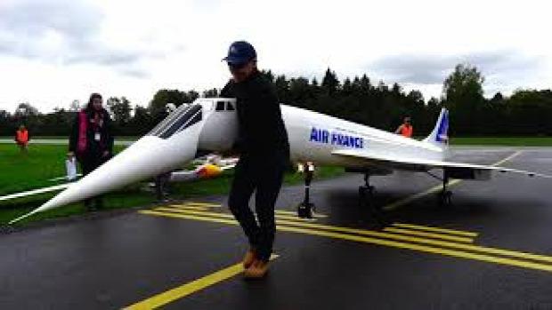 modell repülőgép Concorde legnagyobb legerősebb