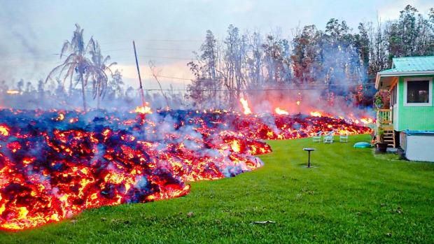 kilauea vulkán  kitörés