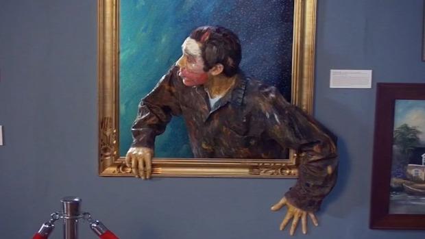 festmény él életre kel