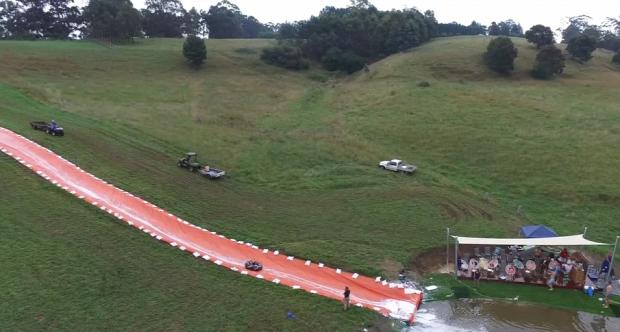 Ausztrália nemzeti ünnep csúszda 110 méter