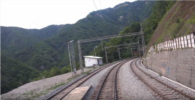 vonat  montenegro utazás