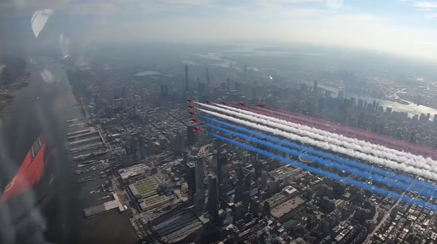 Red Arrows  Manhattan New York