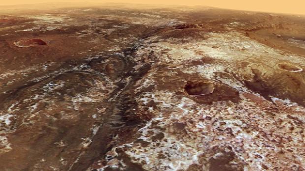 ESA repülés Mars Mawrth-völgy Mars Express