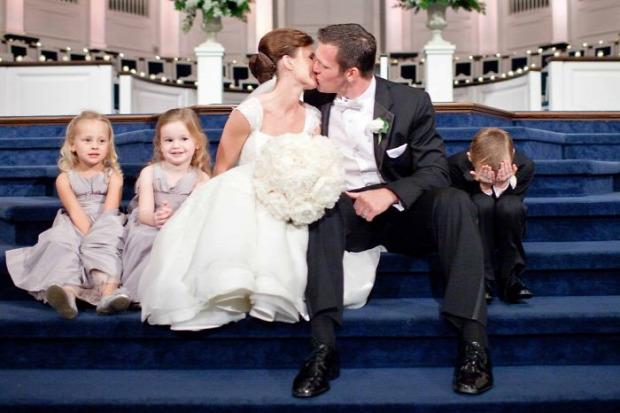 A világ érdekes gyerekek  esküvő arc