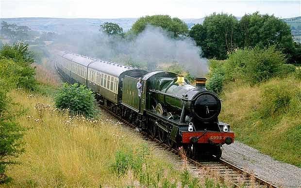 vonat mozdony gőz