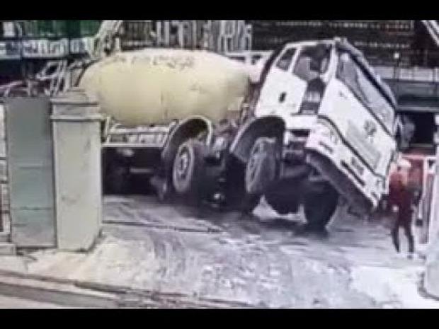 munka baleset