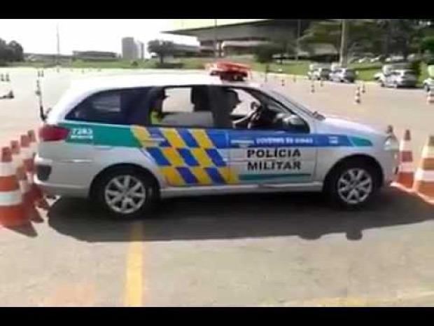 parkolás kiállás rendőr brazil