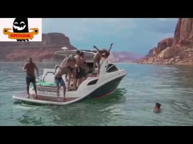 hajó baleset esés