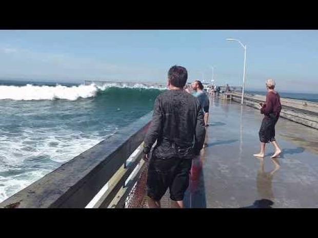 tenger víz hullám esés