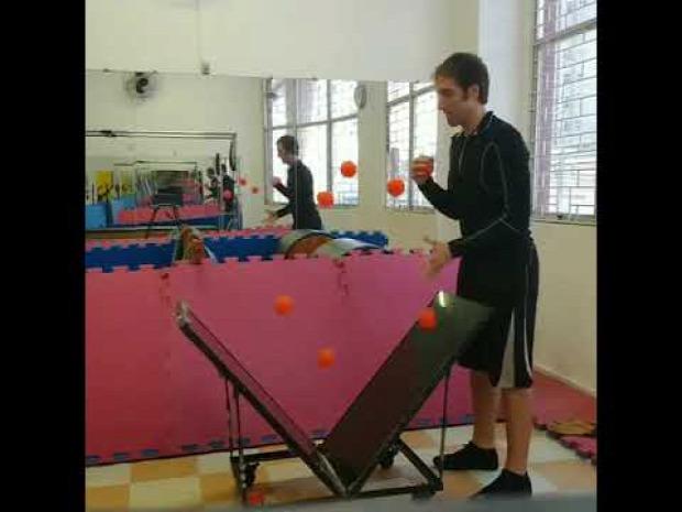 zsonglőr labda