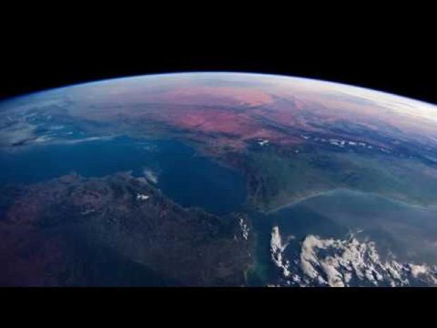 Nemzetközi Űrállomás Föld keringés utazás