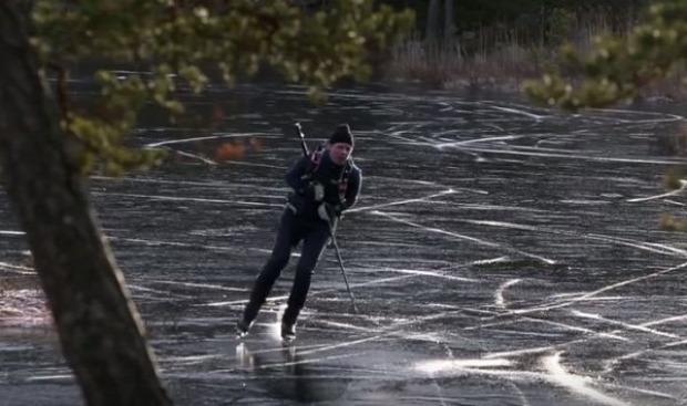 jég fekete hang