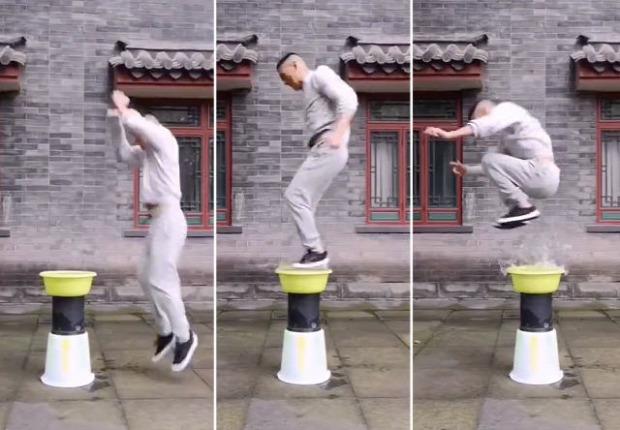 víz ugrás harcművész kína