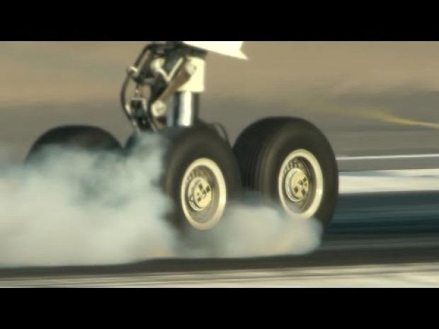 repülő kerék lassított felvétel