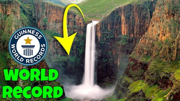 guinness rekord kosárlabda legmagasabb vízesés