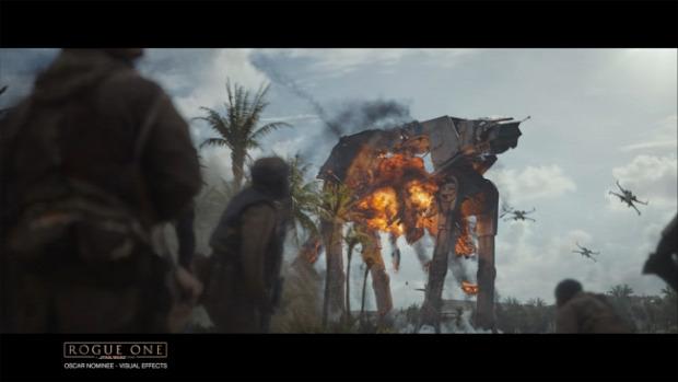 Star Wars Zsivány egyes trükk