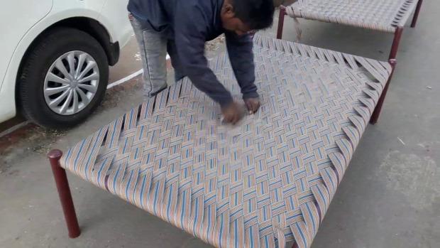 india  ágy gyors készítés heveder charpai khatiya