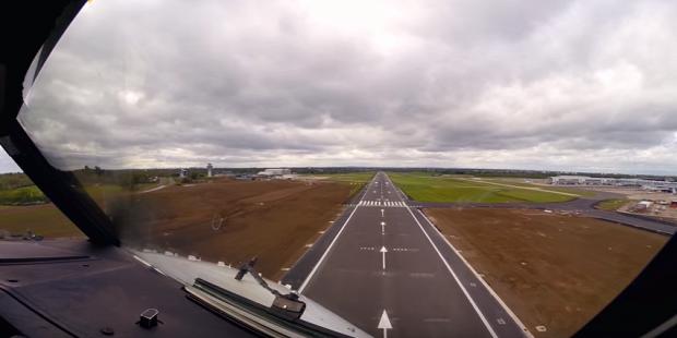 repülés pilótafülke kilátás