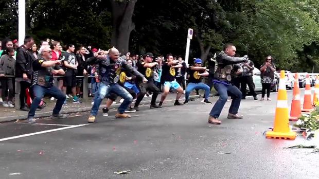 christchurch meénylet áldozat tisztelgés haka tánc