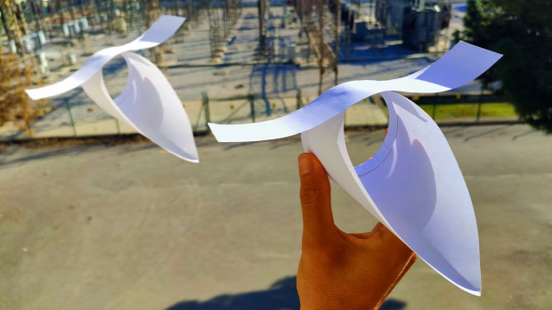 papír  repülő papírrepülő
