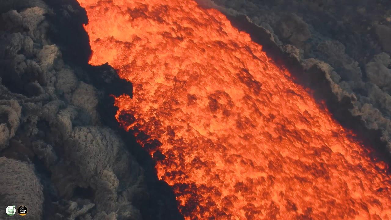 Etna  vulkán kitörés