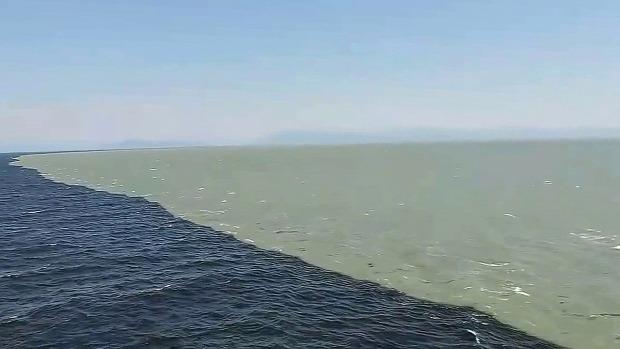 óceán találkozás víz Alaszkai-öböl