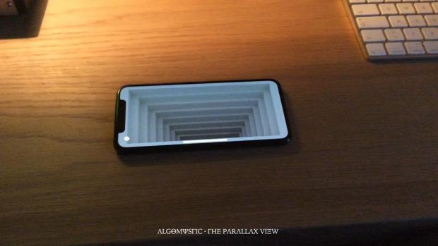 3D kép szemkövetés térhatás telefon