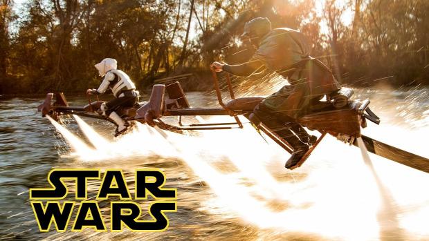 Star Wars SW Jedi visszatér VI. Speeder bike uldözés