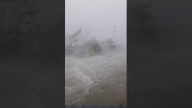 Hurrikán Dorian Bahamák Freeport