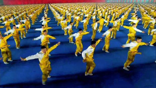 kung-fu  bemutató Kína tavaszi fesztivál