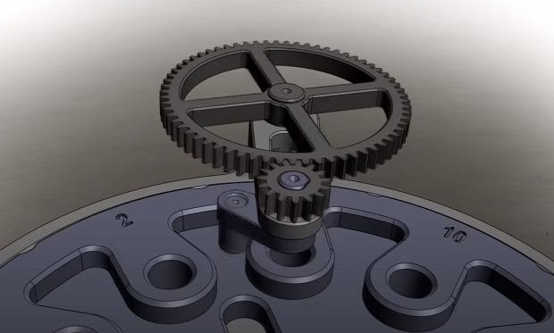 áttétel szerkezet gép