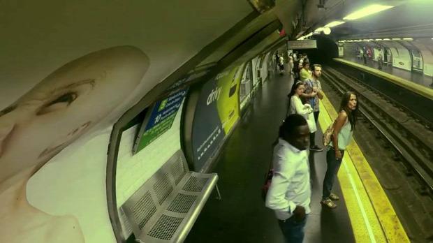 reklám szellem metro gohostbusters szellemírtók