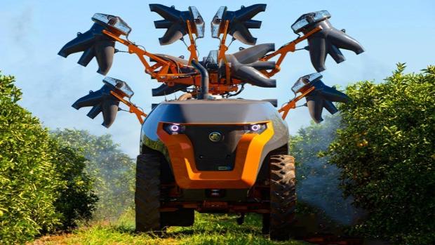 mezőgazdaság gép modern különleges
