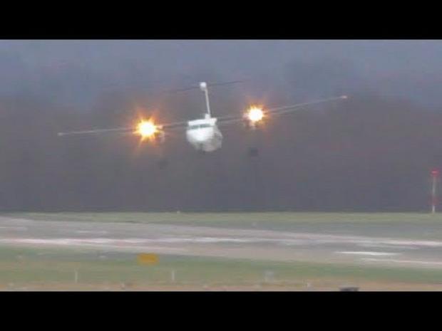 repülő vihar  oldalszél