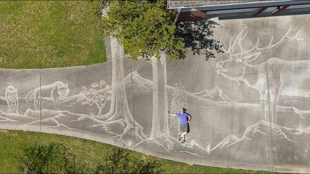 nagynyomású mosú fotó drón felhajtó grafika